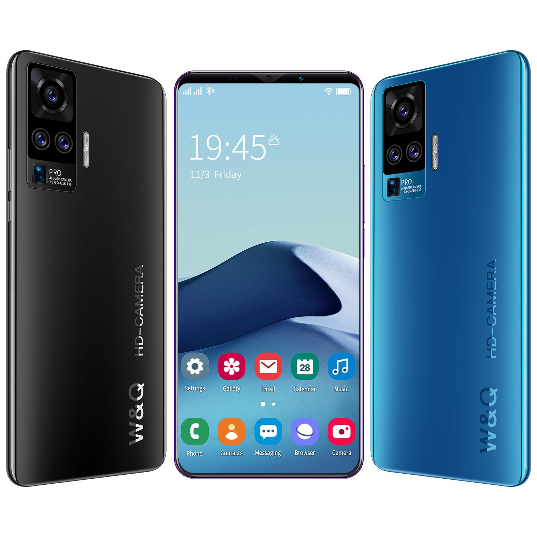 Original 5G X50 Plus Smartphone 6gb+128gb Smart Phone 4800mAh Android 10.0 Cheap Unlocked Mobile Phones