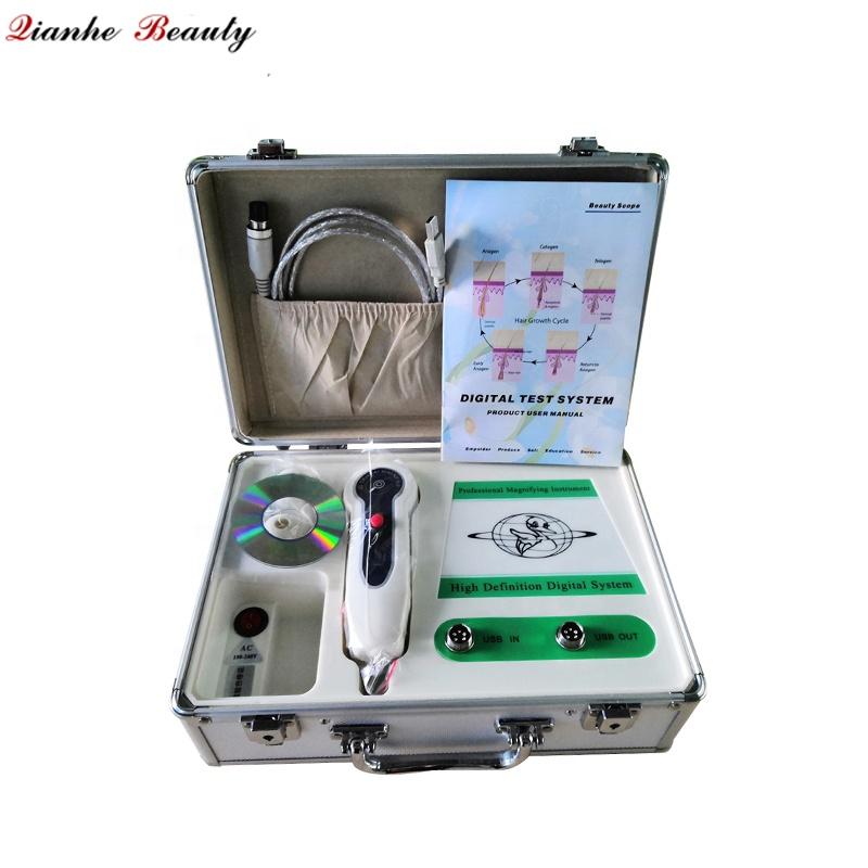 High quality hot sale portable magic mirror boxy skin and hair analyzer