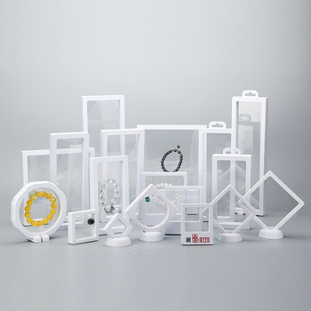 Photo 3D Suspension Floating Frame multifunction Case Clear Jewelry Packaging Display Box