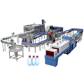 Complete Water Juice Filling Production Line