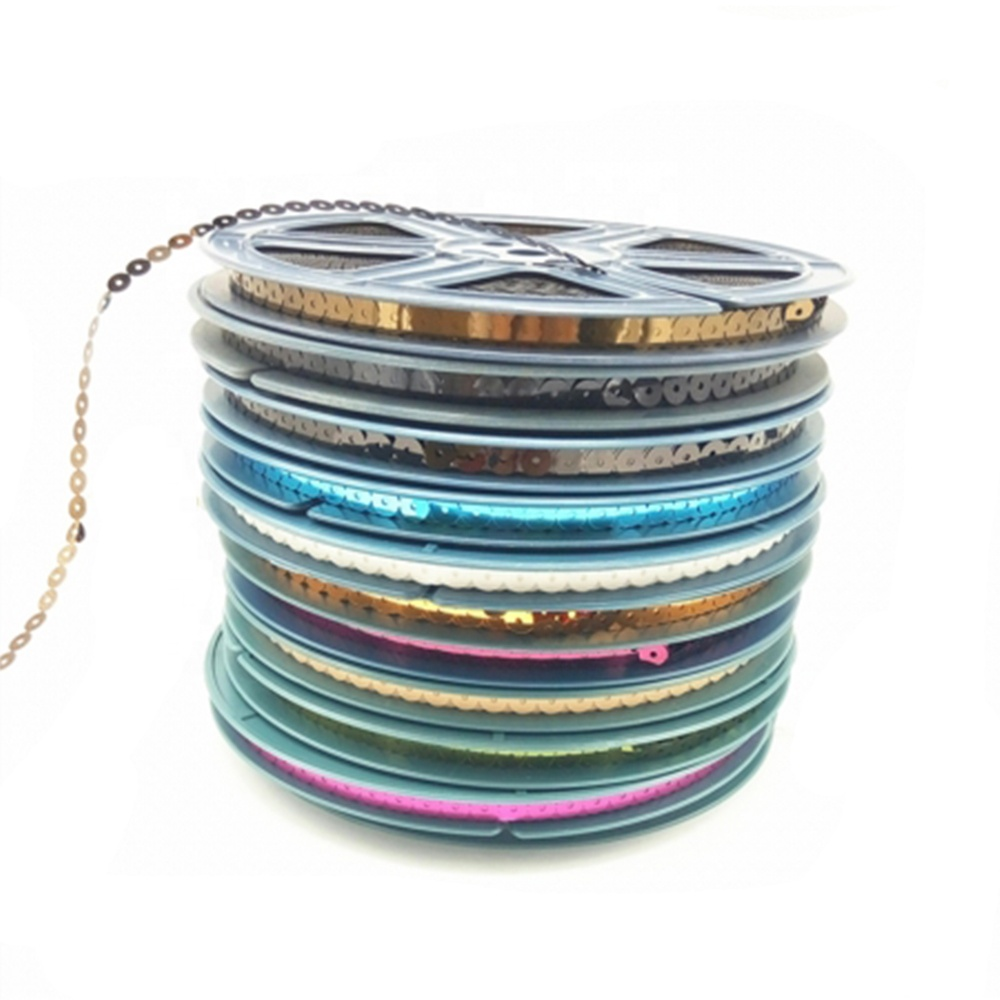 2020 SHENYUE 2mm-9mm sequin reel sequin disk for embroidery