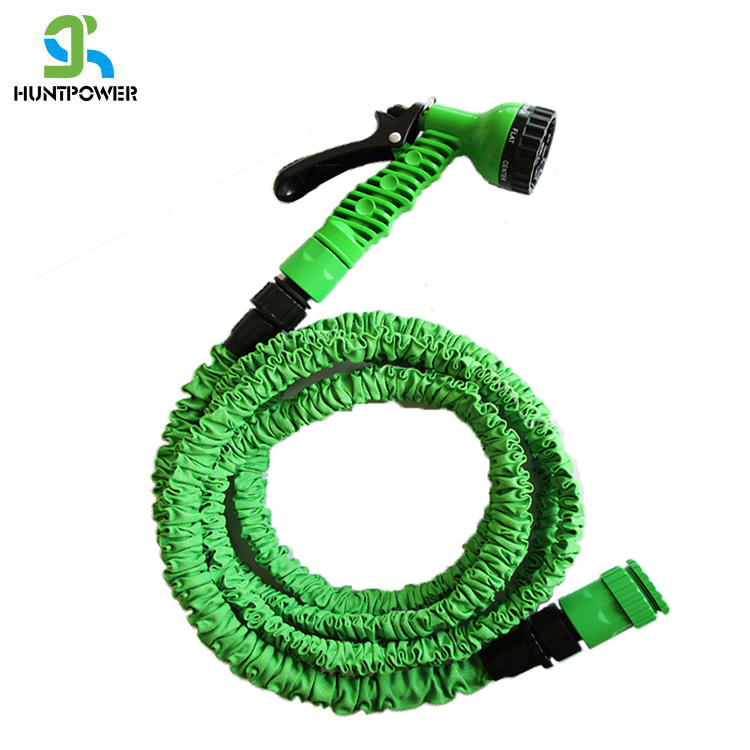 2 layers Latex Flexible High Pressure wash car water latex expand Garden hose for big garden