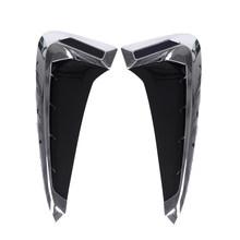 Автомобильная накладка на заднее отверстие из углеродного волокна 3D наклейка для BMW эмблема логотип X5 F15 X5M F85 2014-2018 автомобильные аксессуары(Китай)