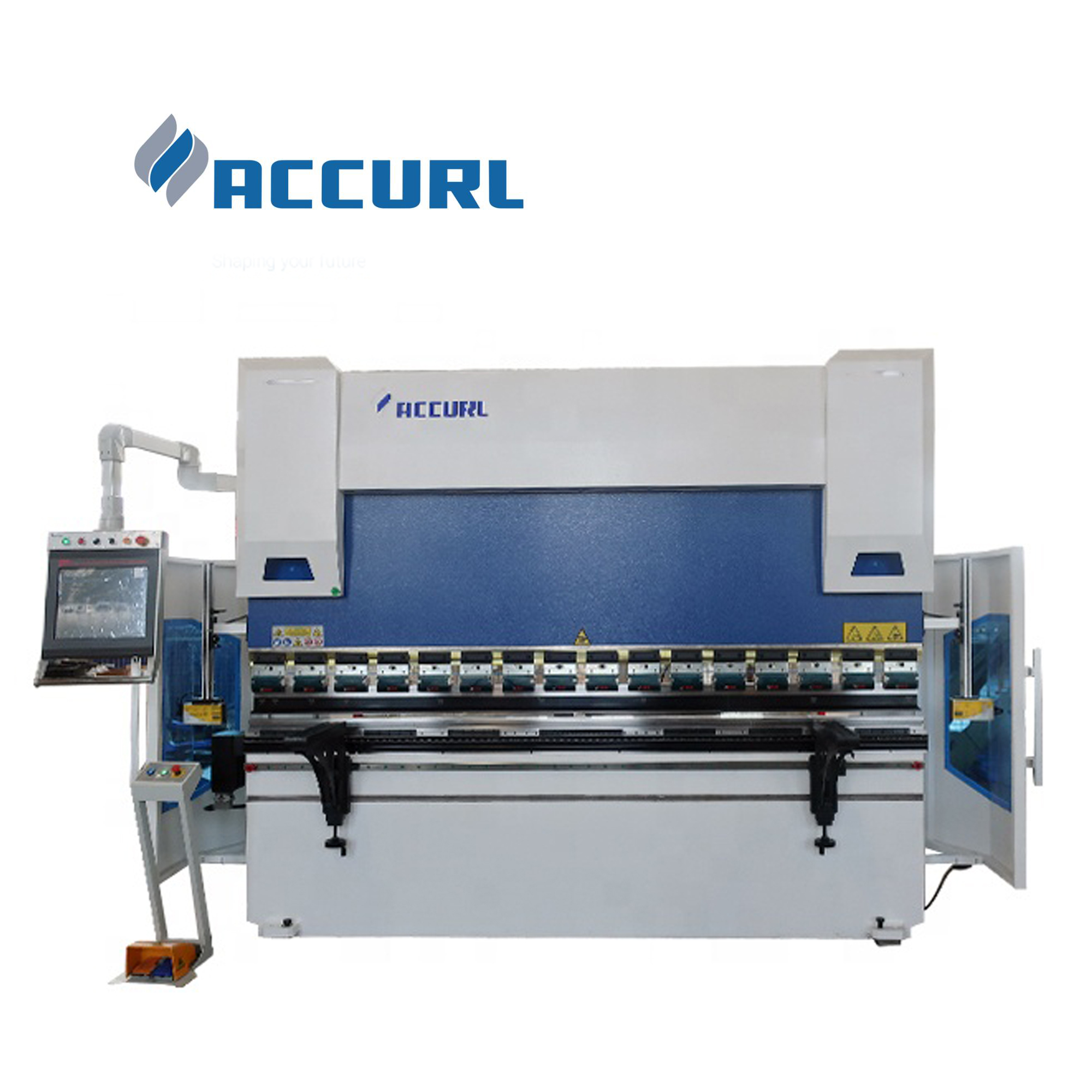 Accurl Hydraulic 8axis Delem DA-69T Controller 60/2500mm press brake