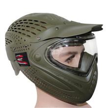 Двойной анти-туман тактический военный шлем для пейнтбола маска для наружного воздушного пистолета мотоциклетный шлем маска(Китай)