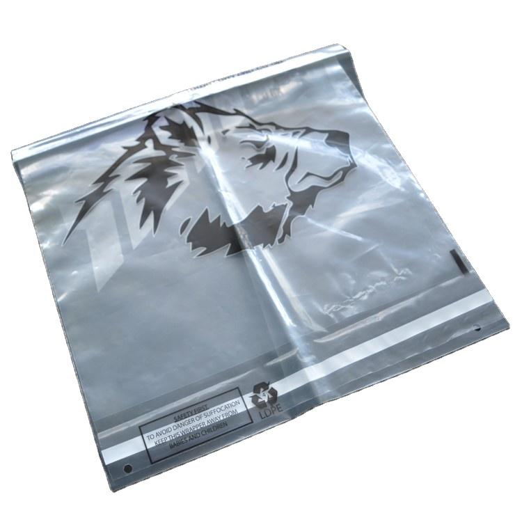 Полиэтиленовый пакет для одежды с защитой от удушения, с клейкой пленкой и уплотнением