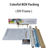 colorful box packing