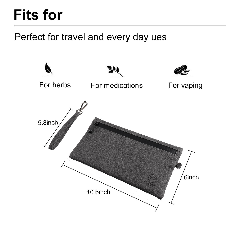 Сумка с защитой от запаха, ткань 600D, карбоновая, с защитой от запаха