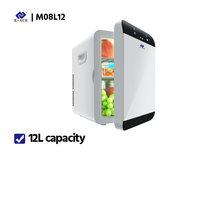 E-ACE M08 автомобильный холодильник с низким уровнем шума, мини-холодильник с морозильной камерой, охлаждающая коробка, холодильник для хранен...(Китай)