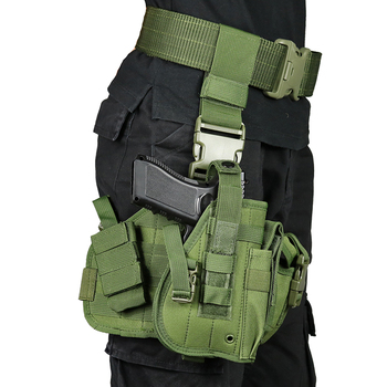 Chenhao Thigh Leg Drop Gun Bag Military Hip Molle Leg Tactical Adjustable Airsoft Pistol Holster