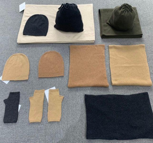 100% pure cashmere beanie hats blank custom logo women men knitted cotton 100% merino wool beanie hat with custom embroidery