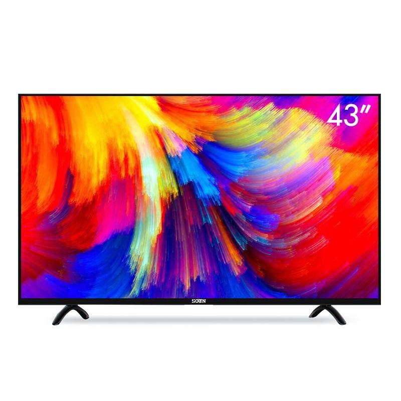 Оригинальный производитель, смарт-телевизор с плоским светодиодом, 43 дюйма, FHD, домашний светодиодный смарт-телевизор, Android TV