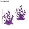 Комплект из 2 предметов фиолетового кораллового цвета