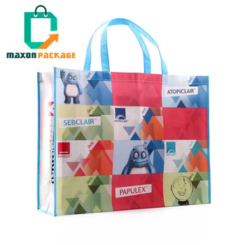 NBCU Factory Direct Manufacturer Safety Health Foldable Reusable Cheap Eco-friendly Multicolor Large Pla Non Woven Bag