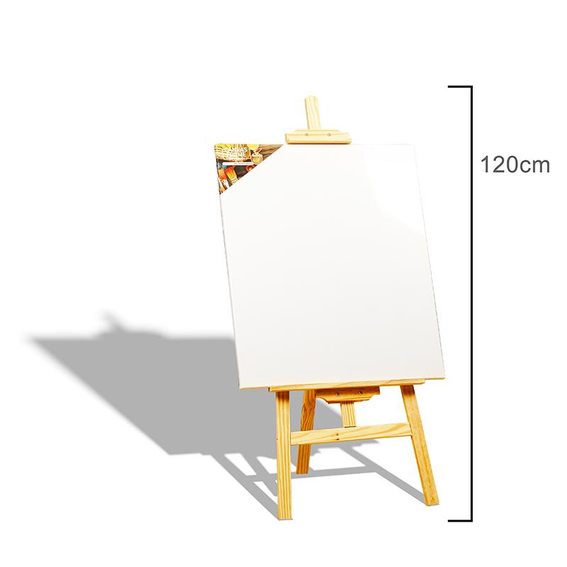 Арт регулируемые мольберт станция большой деревянный мольберт