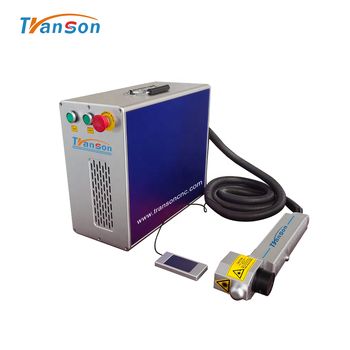 50W 100W Mini Laser Metal Cleaning Painting Cleaning Equipment Rust Removal Machine