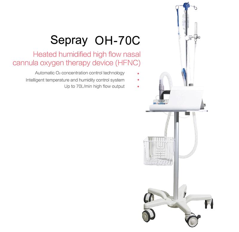 Breathe Machine for Hospital non-invasive Respiratory Humidification Therapy Device /non-invasive Respiratory - KingCare | KingCare.net