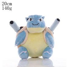 Высококачественные плюшевые игрушки Peluche Jigglypuff Charmander Gengar Bulbasaur, игрушки для детей, подарок для активного отдыха(Китай)