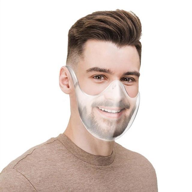 face shield pc transparent face mask protective mask anti-splash isolation mask - KingCare   KingCare.net