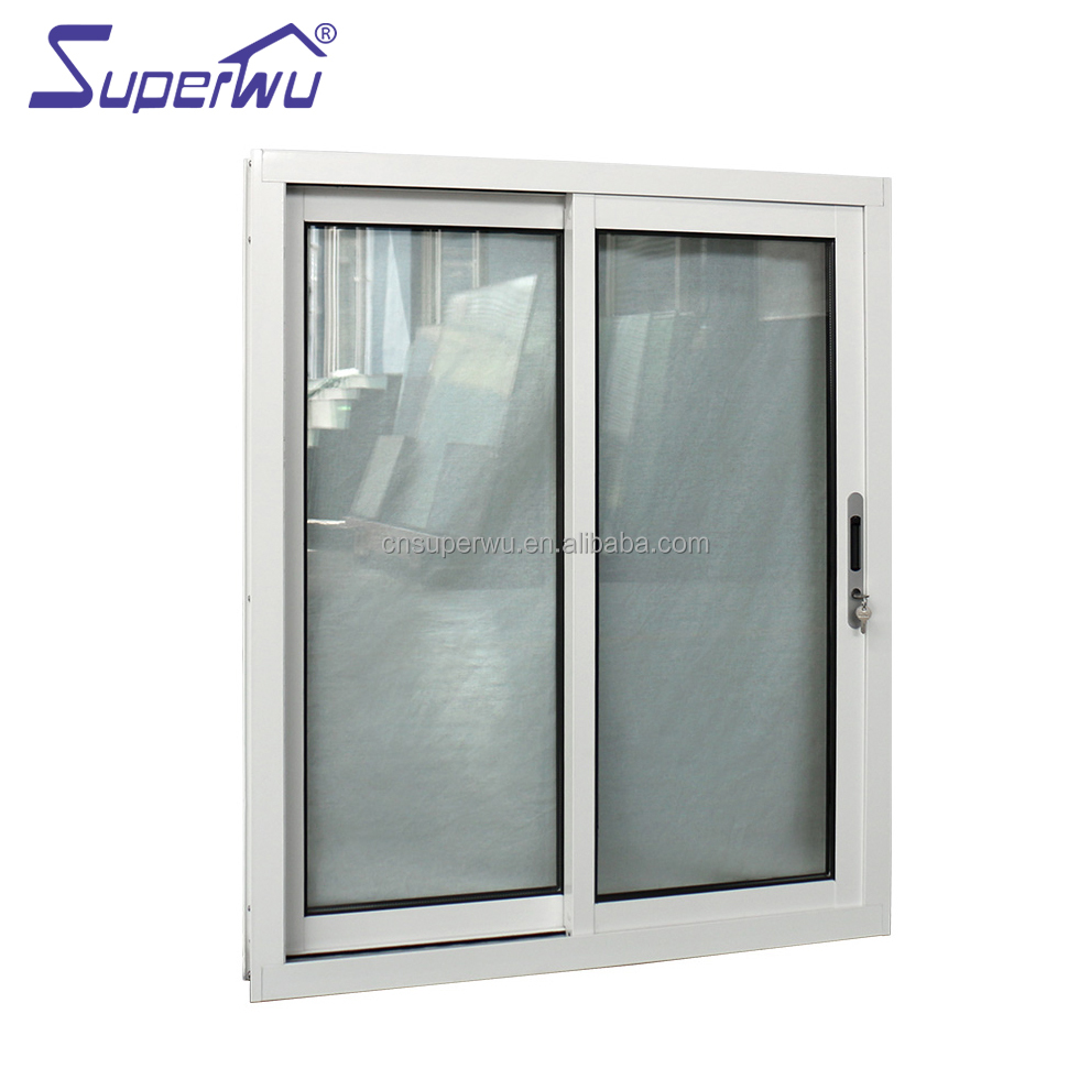 impact proof Aluminium Windows Sliding Window with Inside Grill