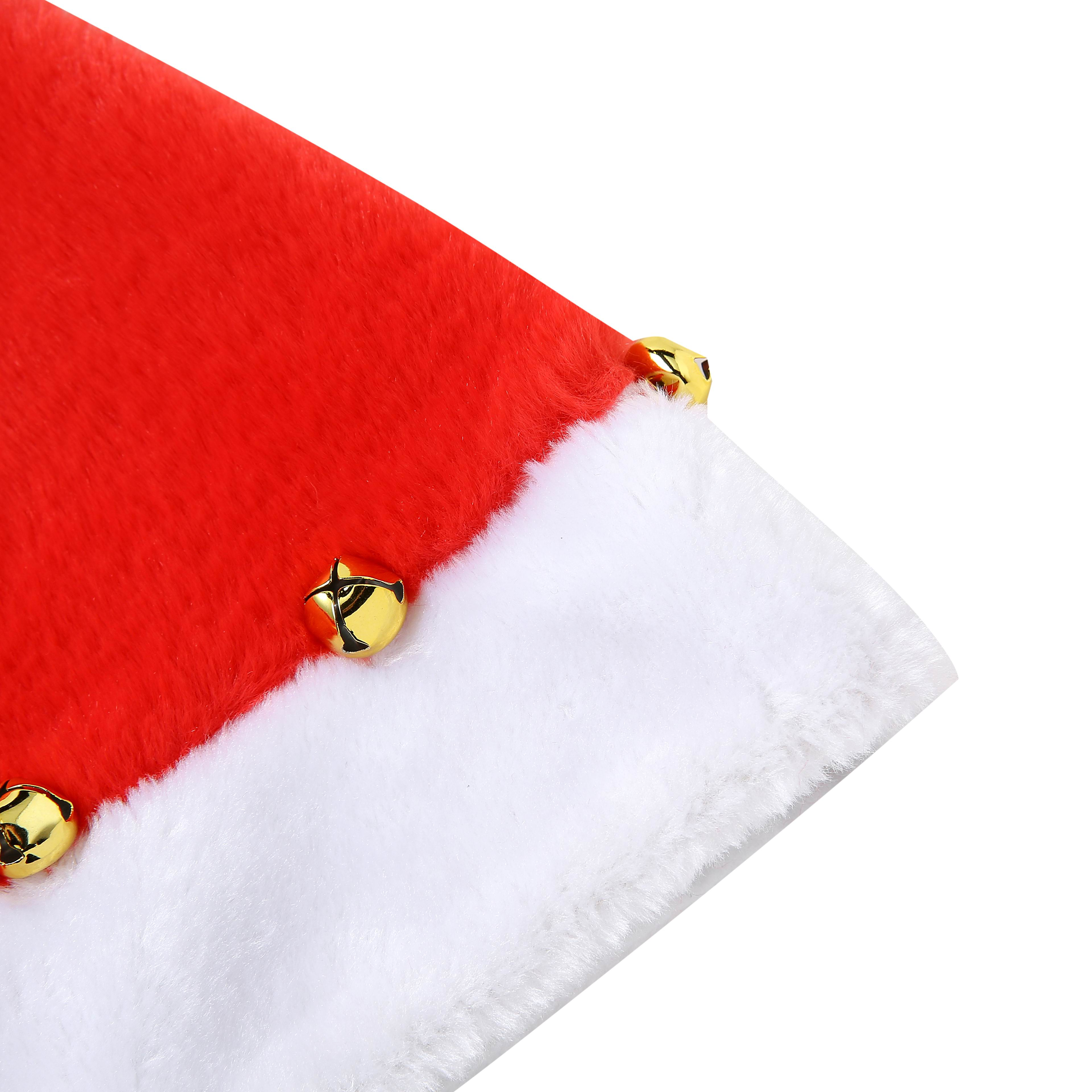 Factory Supplies female red christmas hat for party