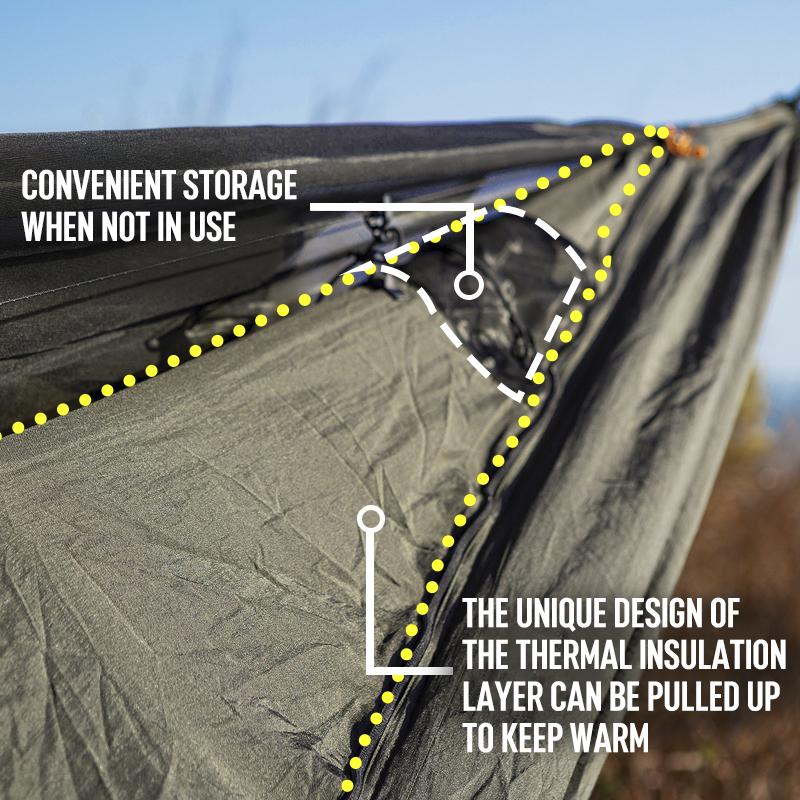 Ultralight Winter Camping Backpacking Travel  hammock underquilt
