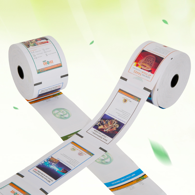 Best selling customized Pre-Printed Cash Register Roll Thermal Paper for some low price