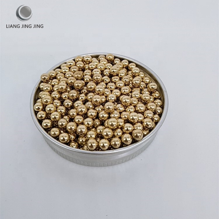 AISI1010 AISI1015 4.38mm 4.4MM 4.5MM small solid copper Plating Steel Ball for bullet projectile
