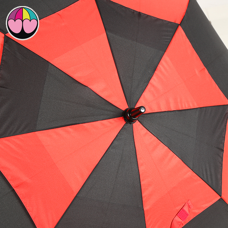 Golf Umbrellas Print Wholesale Double Layer Windproof High Quality Straight Ads Logo for Gift Large Size