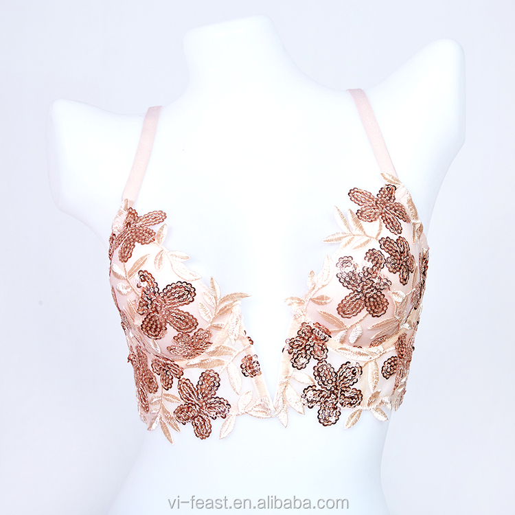 JLB1020 - Customized style reservation for customers lace bralette sexy lingerie women plus size lingerie