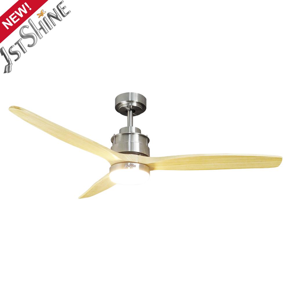1stshine 2020 потолочный вентилятор бренда, потолочный вентилятор из натурального дерева 220 В, потолочный вентилятор