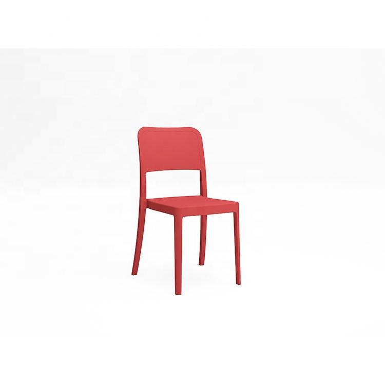 Современные Простые Пластиковые Стулья, красочные пластиковые стулья для мероприятий