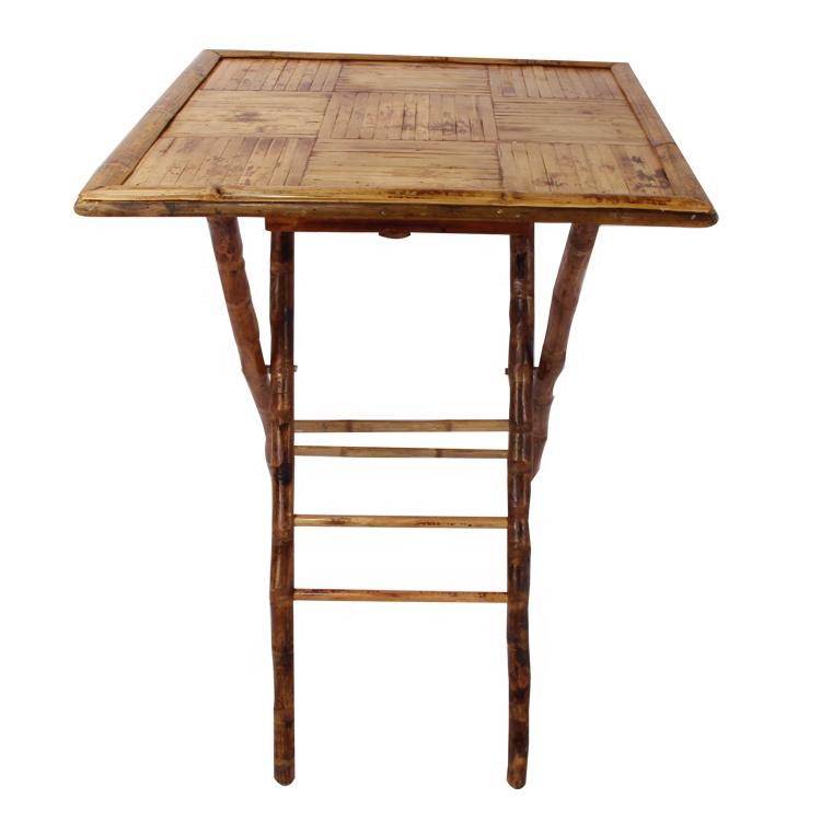 Активного отдыха на открытом воздухе, складной стол из бамбука обеденный стол и барный стул