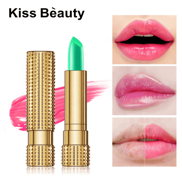 2021 New Aloe Vera Moisturizing Color Changing Lip Balm With Plant Essential Oils Vitamin E For Long Lasting Soothing Lip Makeup
