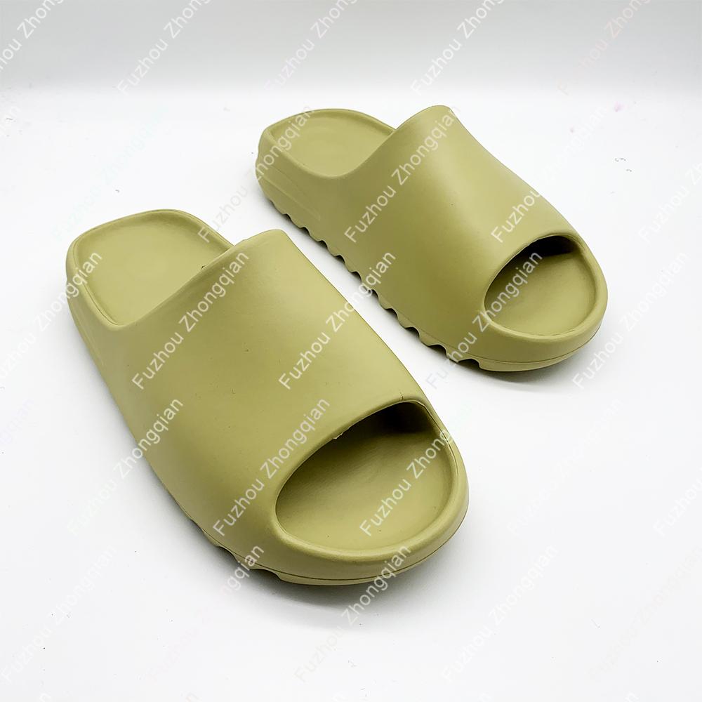 drop shopping LOW MOQ custom logo house slipper brown yeezy slides slippers for men