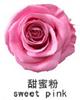 Zoete roze