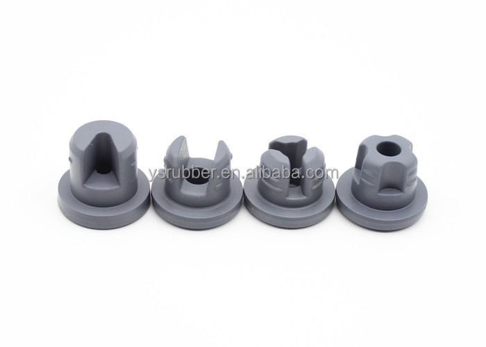 Manufacturers China 20mm Blue Chlorobutyl Rubber Stopper Closures For Injection Vials