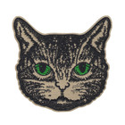 Embroidered Embroidery Clothes Patch For Clothes Custom Animals Lion Large Embroidered Jean Jacket Embroidery Patches For Clothes