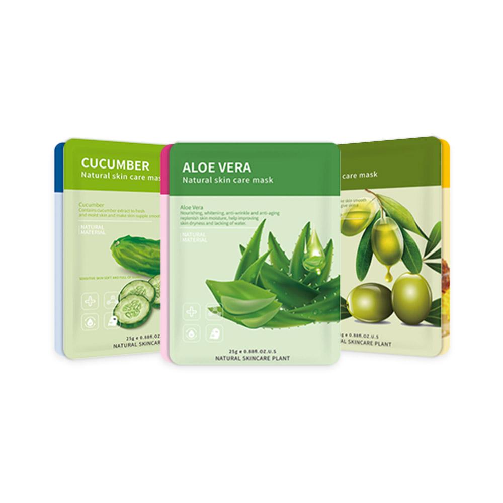 Hydrating Moisturizing Mask Combination Aloe Plant Skin Care Moisturizing Single Sheet Mask