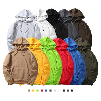 Wholesale Sudadera Con Capucha Customized Hoodie Sweatshirt Cotton Polyester Long Sleeve Printed Oversize Pullover Hoodies