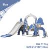 Blue baby slide swing 5 in 1