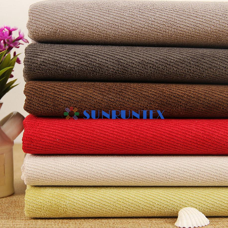 high quality competitive price 100% polyester micro suede fabric for upholstery