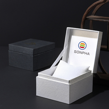 Custom Logo Luxury Watch Display Box Watch Boxes Gift Packaging Box For Watches