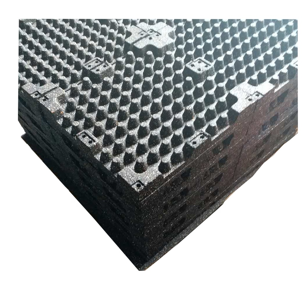 Best commercial interlocking weight lifting rubber gym flooring tiles