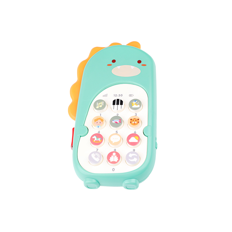 Baby Mobile Phone Mini Dancing Dinosaur Music Phone toy Gift For Infant Vibrating
