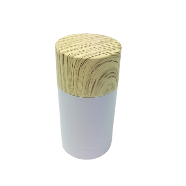 Wholesale 75g recyclable biodegradable tubes packaging empty deodorant stick container