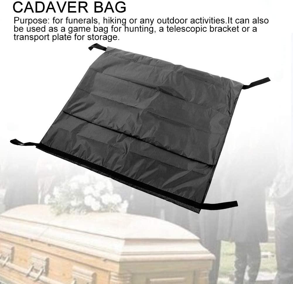 Изготовленная на заказ сумка для трупа непромокаемая 210D водонепроницаемая ветрозащитная сумка для хранения тела сумка для трупа погребальные принадлежности