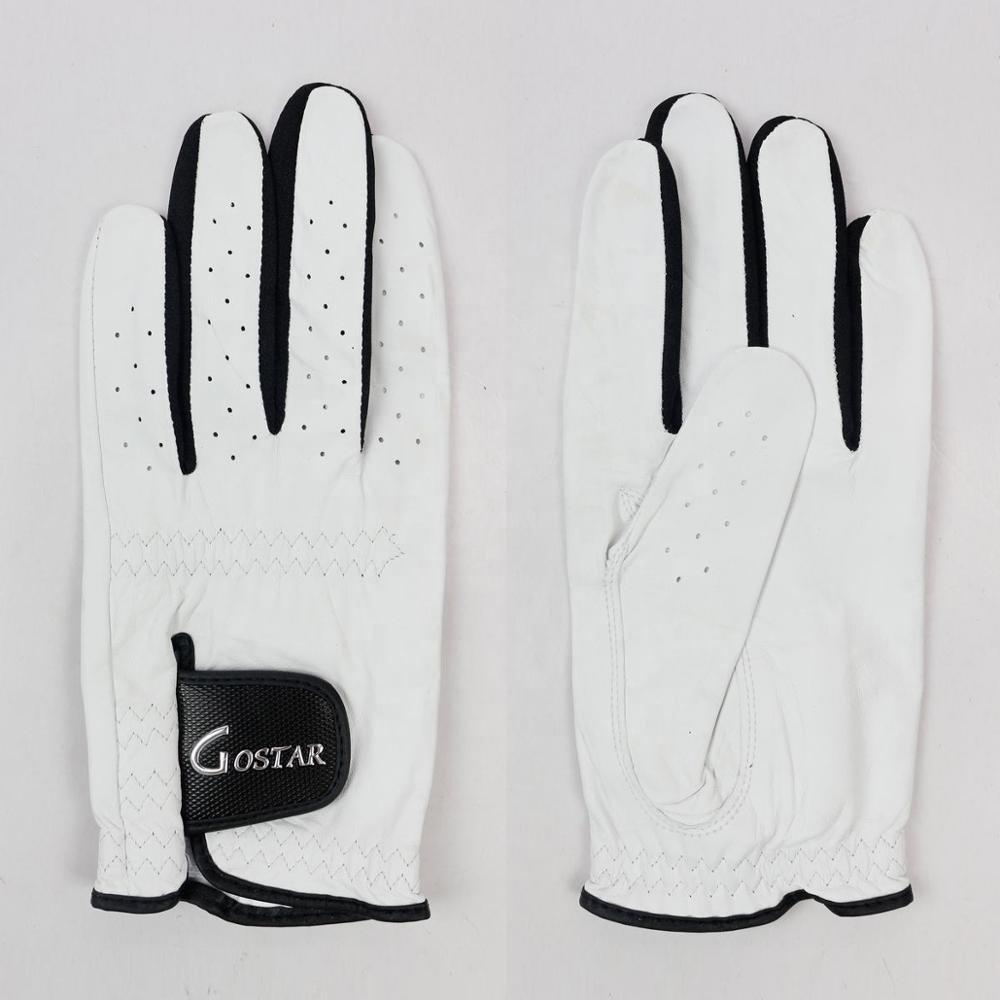 Белоснежные Кожаные Перчатки Для Гольфа Cabretta
