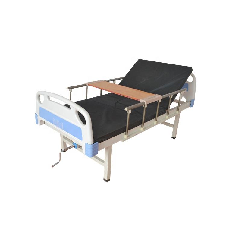 Bestseller 1 Function One Crank Manual Cheap Hospital Nursing bare Bed