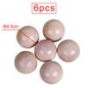 6 pcs natural ball